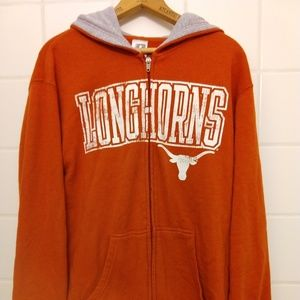 Texas Longhorns Zip Up Hoodie